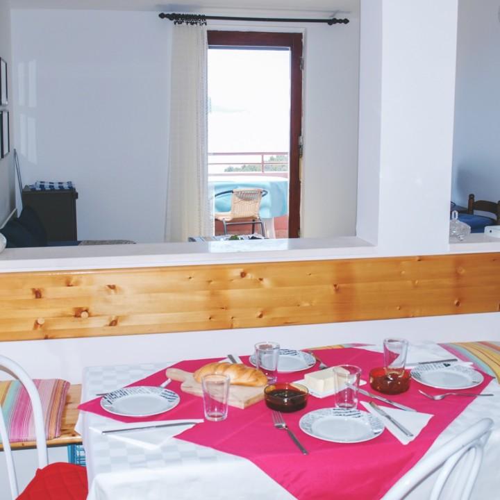 Apartment Arta Vela - dining area - Apartments Mima DrageApartment Mima 1 - Drage